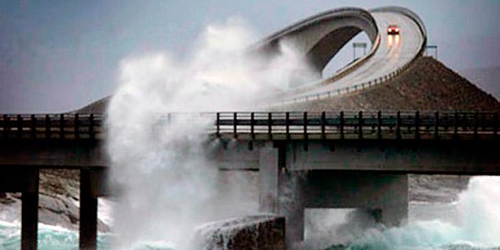 De kaller den en av verdens «farligste» veier. Og den ligger i Norge!