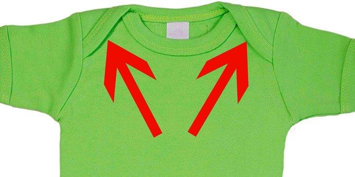 Vet du hvorfor noen babyklær IKKE er sydd sammen ved skuldrene? Åh, Så dum jeg har vært!