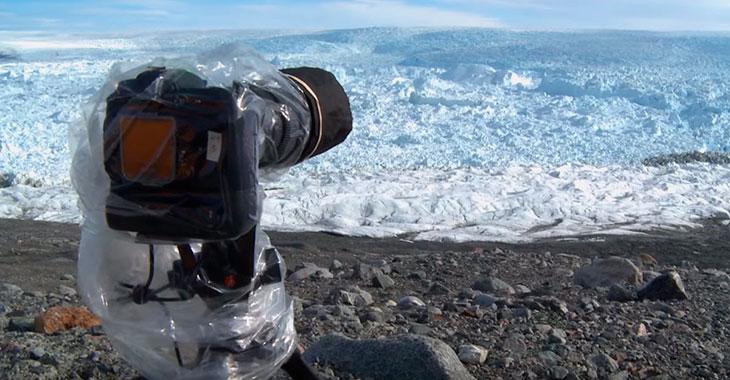 De plasserte kameraene sine på Grønland. Opptakene er både forbløffende og skremmende!