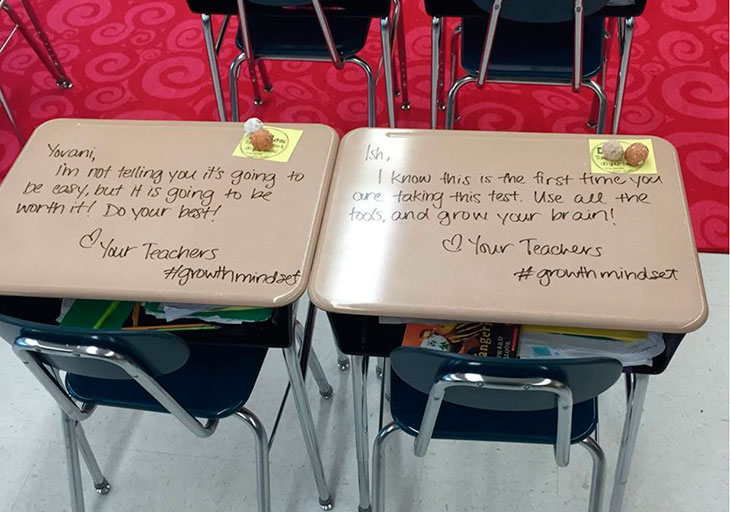 Lærerens beskjed