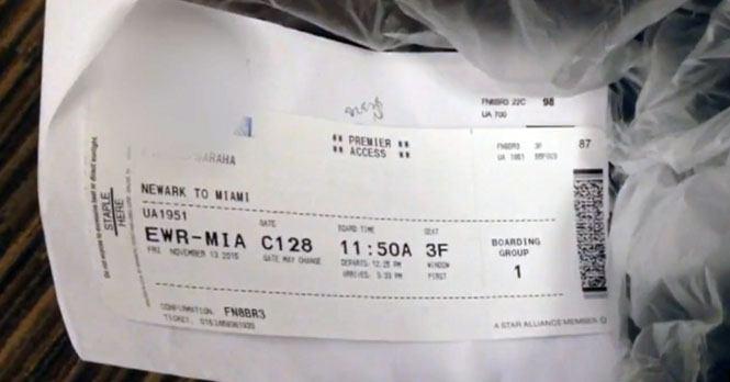 Kaster du boardingkortet etter flyreisen? Det gjør du ikke igjen etter å ha sett dette!