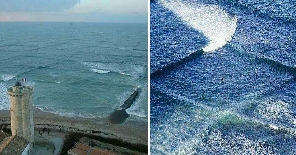 Denne mannen oppdaget spektakulære firkantede bølger – Heldigvis hadde han fotoapparatet klart!