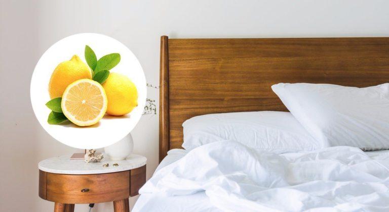 En halv sitron ved siden av sengen din kan gjøre underverker for deg!