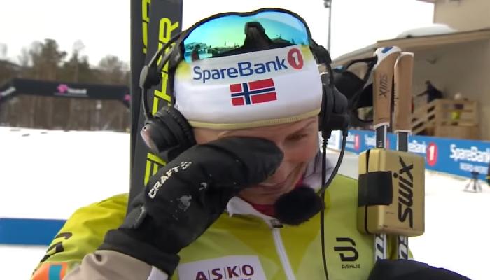 Marit Bjørgen klarer ikke å holde tårene tilbake – Norge TAKKER deg Marit!
