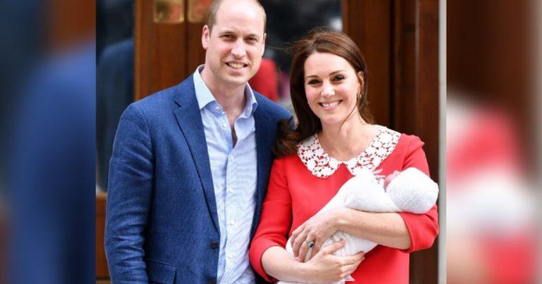 Timer etter fødselen viste hertuginne Kate frem babyen og sendte en hylles til Diana