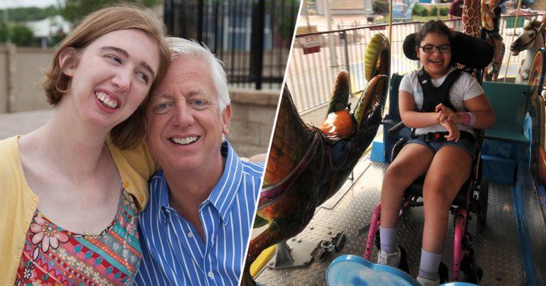 Han solgte bedriften sin for å bygge en fornøyelsespark for barn med spesielle behov