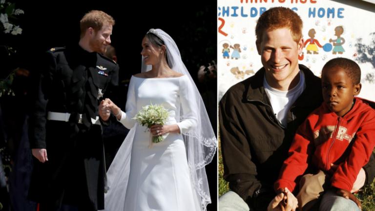 Hjemløs afrikansk gutt var invitert i det kongelige bryllupet