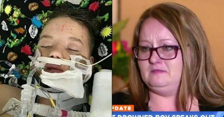 12 åring havnet i koma etter nesten drukningsulykke – Et mirakel at han lever, sier moren