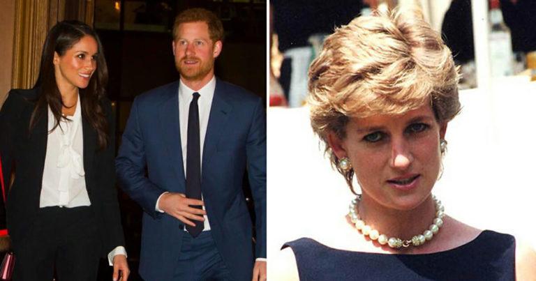 Når prins Harry sier «ja» til sin kjære Megan, er det ikke helt uten triste minner fra moren