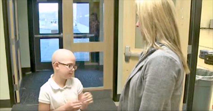 Ni år gammel jente barberte hodet sitt – Det resulterte i utestengelse fra skolen