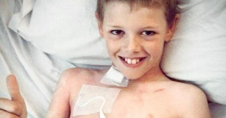 Den 13 år gamle gutten skulle dø av kreft, så ga moren han cannabis….