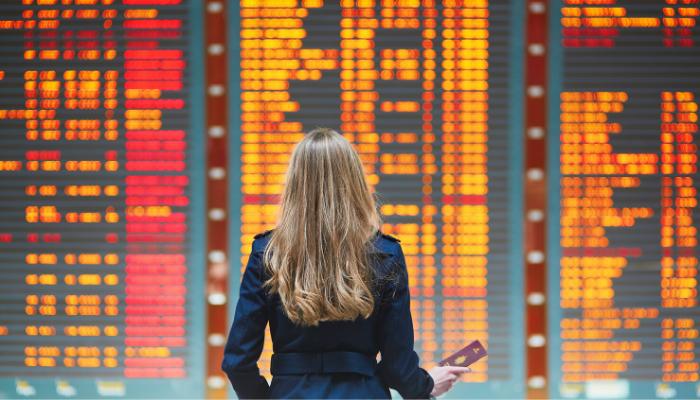 Hva du bør gjøre hvis flyet plutselig blir kansellert